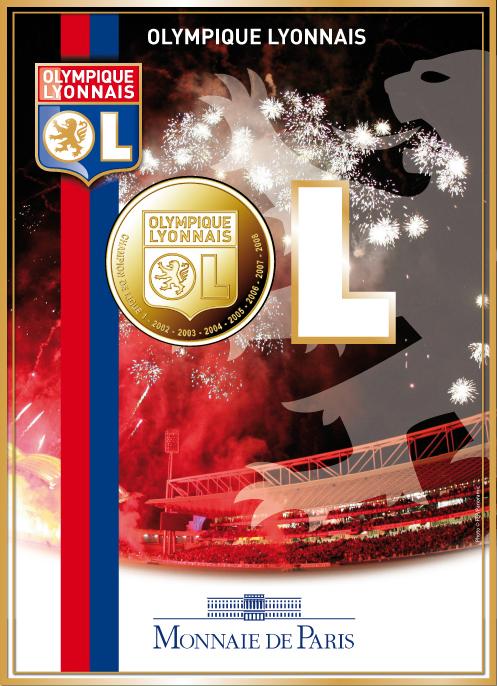 monnaie de paris olympique lyonnais