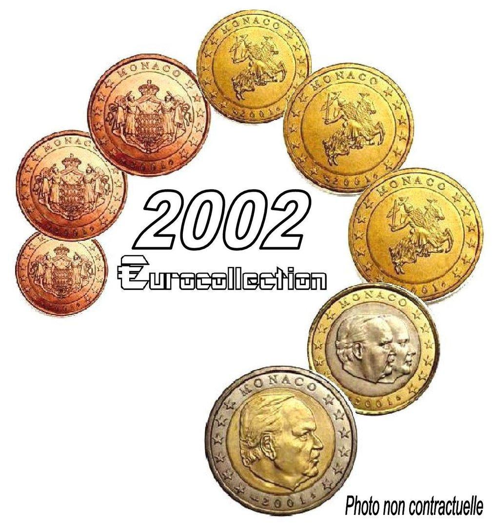 serie euro monaco 2002 eurocollection. Black Bedroom Furniture Sets. Home Design Ideas