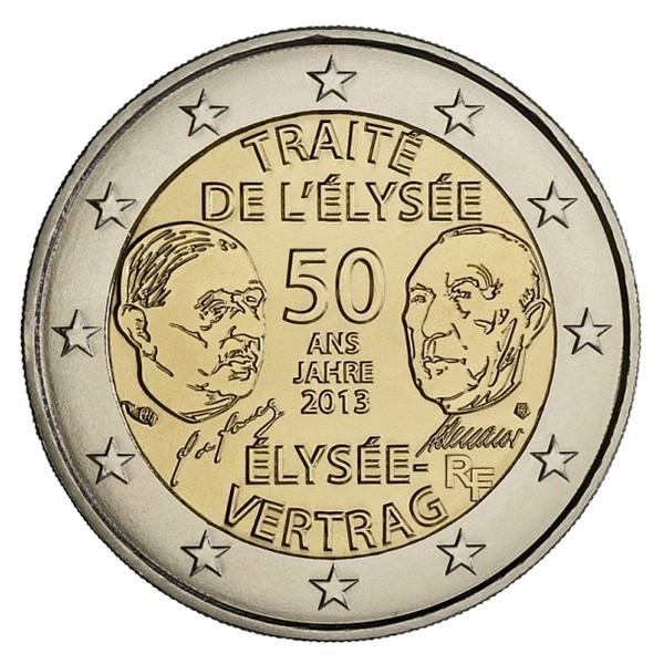 2 euro 2013 trait de l 39 elys e france eurocollection. Black Bedroom Furniture Sets. Home Design Ideas