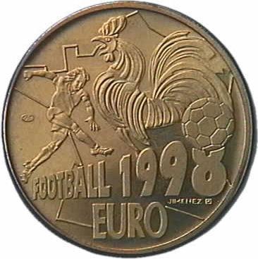 10 euros football 1998 essai eurocollection - Coupe a 10 euros grenoble ...