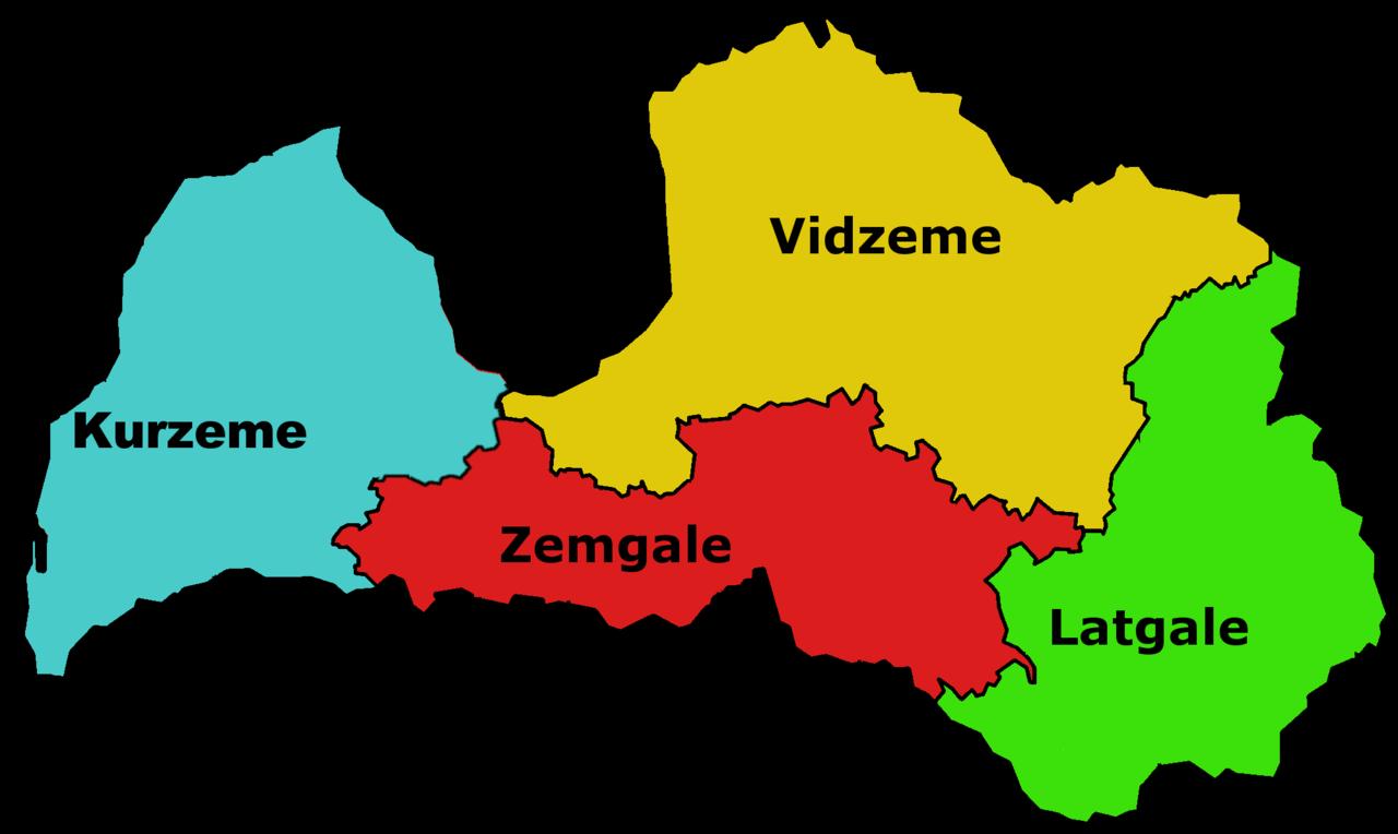 Regions_de_Lettonie