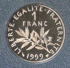 1 franc Semeuse 1999 BE