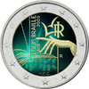 2 euro Italie 2009 Louis Braille couleur 2