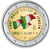 2 euro Italie 2011 Unification couleur 2