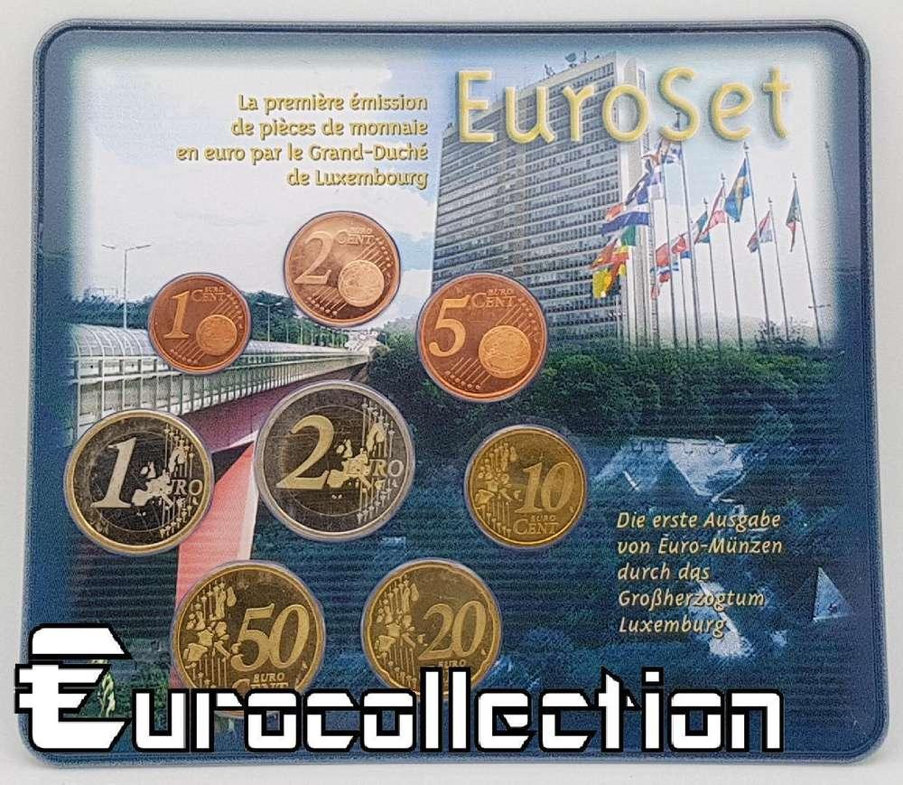 Bu Luxembourg 2002 Euroset Eurocollection