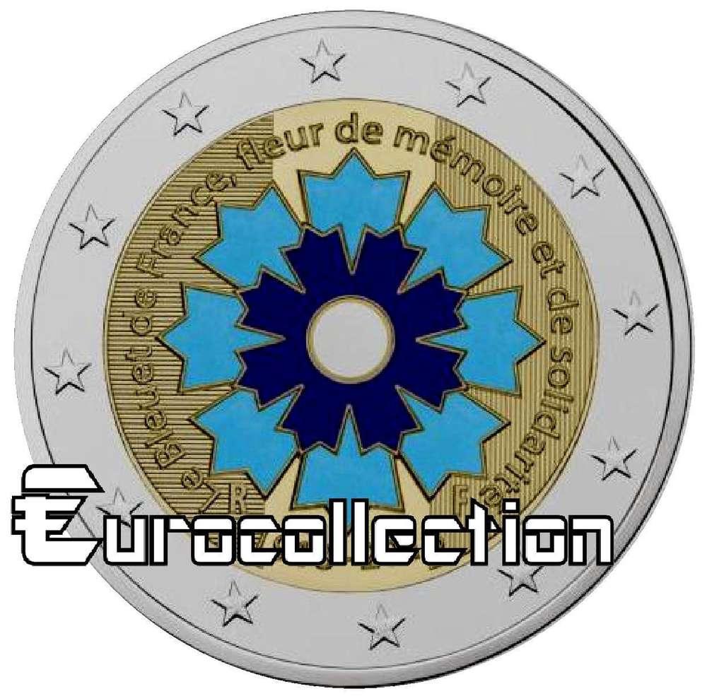 monnaie de paris bleuet