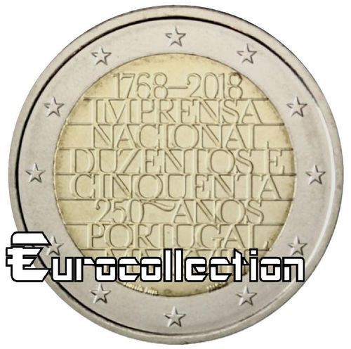 2 euro Portugal 2018 Imprimerie Nationale