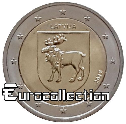 2 euro Lettonie 2018 Zemgale