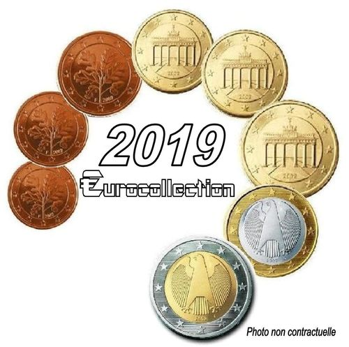 Serie euro Allemagne 2019