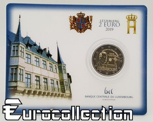 Coincard 2 euro Luxembourg 2019 Suffrage universel