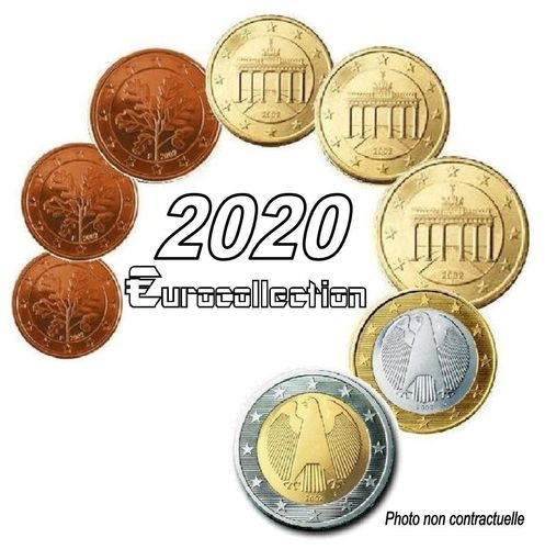 Serie euro Allemagne 2020
